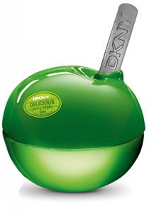 """DKNY Delicious Candy Apples Sweet Caramel"" perfume by Donna Karan: http://www.perfumeemporium.com/perfume/17782/DKNY-Delicious-Candy-Apples-Sweet-Caramel-Donna-Karan"