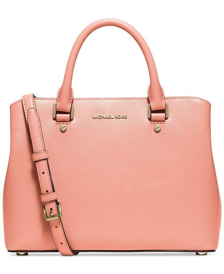 MICHAEL Michael Kors Savannah Medium Satchel - MICHAEL Michael Kors -  Handbags \u0026 Accessories - Macy\u0027s