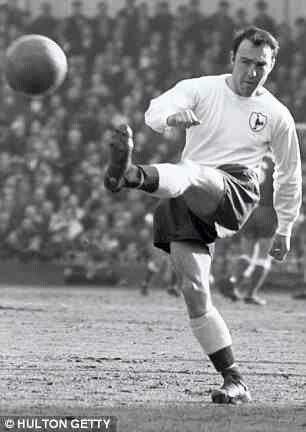 Jimmy Greaves of Tottenham Hotspur in 1965.