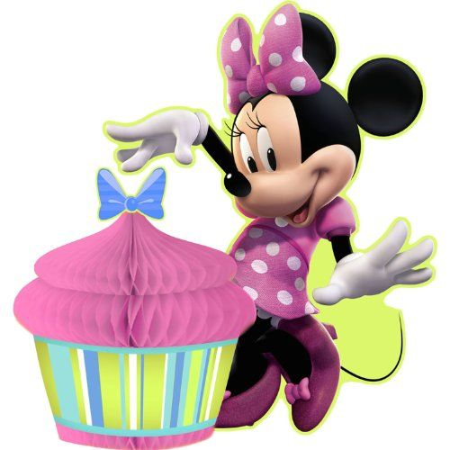 Disney Minnie Mouse Bow-tique Centerpiece Party Accessory