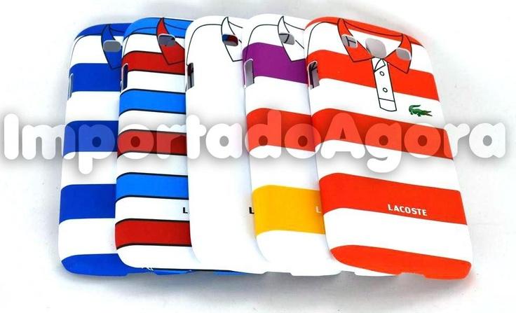 Capa Rígida - Polo Lacoste Samsung Galaxy S3 i9300 - Para mais informações clique na imagem :)