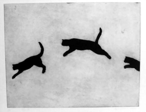 Bound by Kristin Headlam - etching