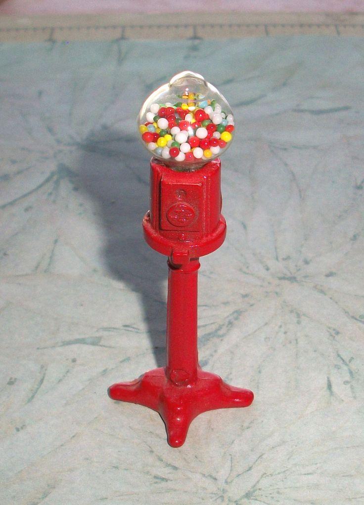 metal bubble gum machine