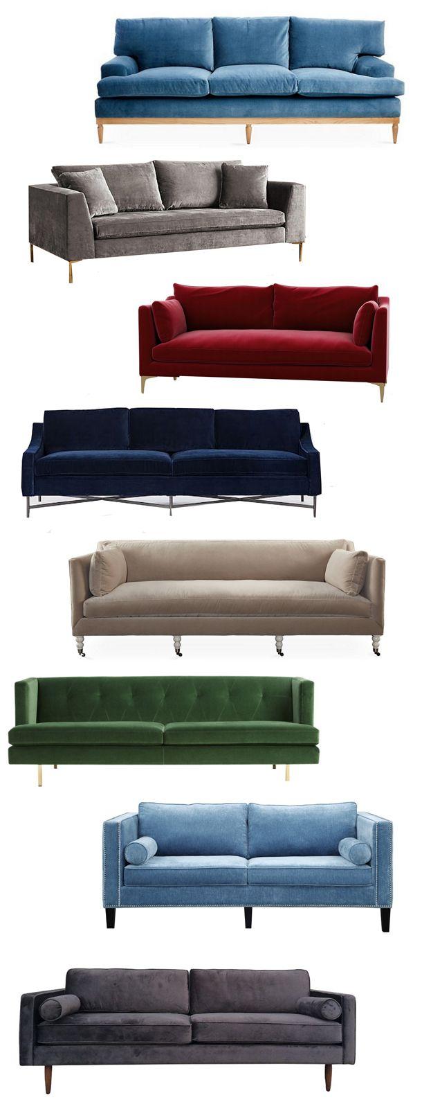 200 best sofas images on pinterest sofas beach house and modern velvet sofas parisarafo Gallery