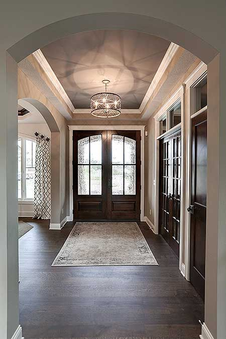 Foyer In Plan : Big daddy sport court house plan hs craftsman