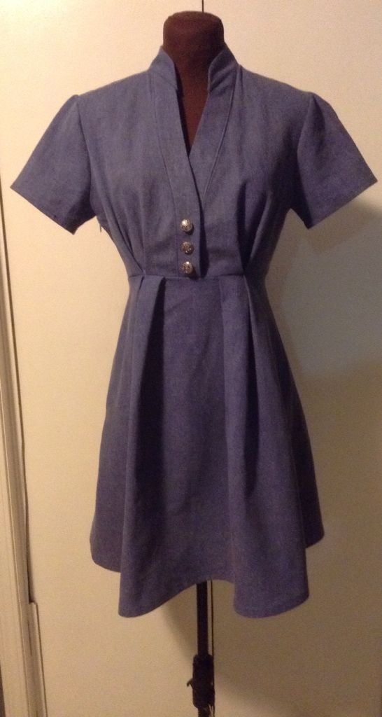 Denim dress - Soft thin cotton and not so much like jeans fabric