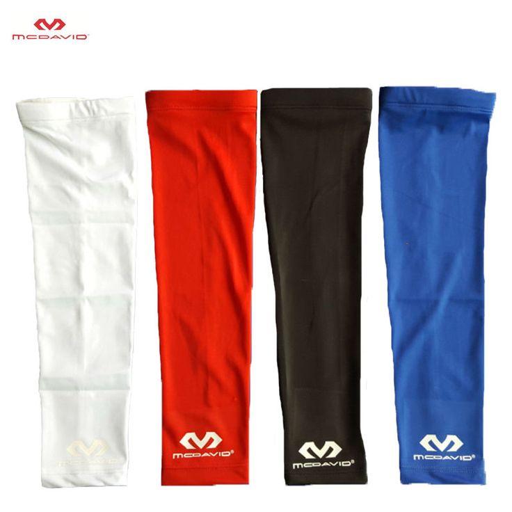 100% mcdavid 1 pcselastic gym olahraga lengan lengan shooting dukungan bernapas dukungan siku bantalan pelindung siku penjaga olahraga keselamatan