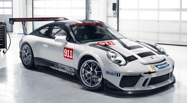 2018 Porsche 911 GT3 Cup Design