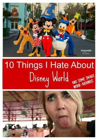 Things I Hate About Disney World and some smart tips and tricks to work around those problems - @toulousentonic  What He Said   disney secrets   vacationing with kids