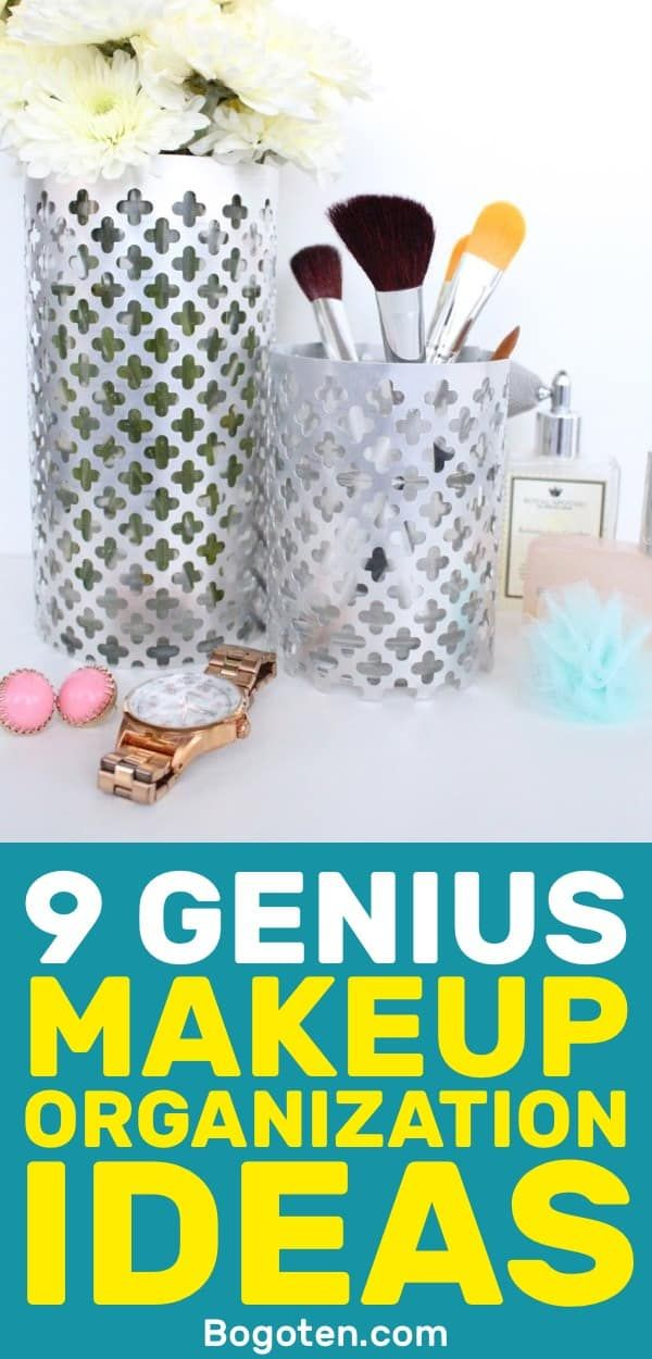 9 Great DIY Makeup Organization Ideas You Can Do Today