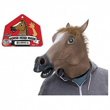 Horse Mask from Archie McPhee #horsemask