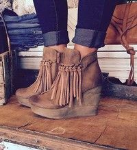 Wish | Fashion Women Boots Ankle Tassels Boots for Women Winter Shoes Feather Indian Style Retro Wedges Boots Woman