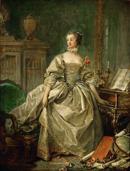 Маркиза де Помпадур, метресса Людовика XV. Франсуа Буше