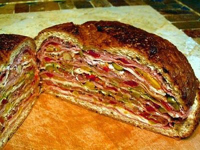 Oh My! Looks Delish!  Hungry Texans Ultimate Italian Sub