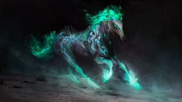 Despair, the pale horse of death by theDURRRRIAN
