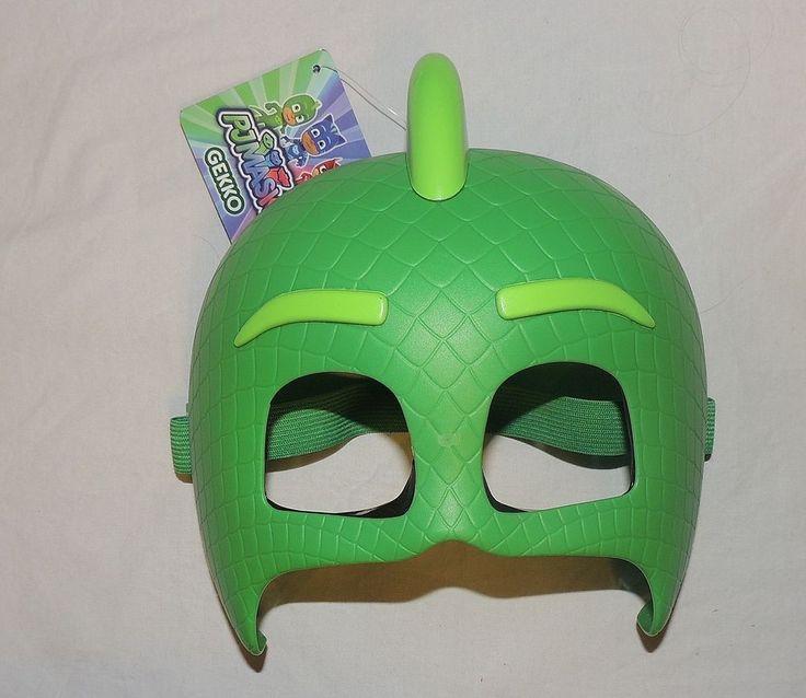 new pj masks gekko mask dressup halloween costume disney junior plastic gecko - Disney Jr Halloween Costumes