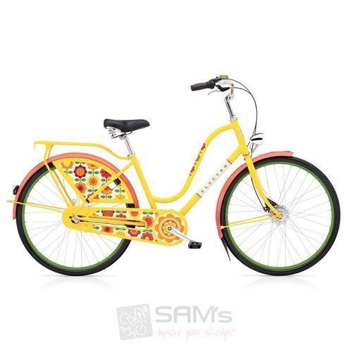 Electra-Amsterdam-Fashion-3i-Forget-me-not-gelb-Damen-Fahrrad-Cruiser-City-Rad