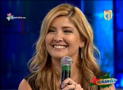 """Leila Mejía: """"Mi Pareja No Puede Salir A La Calle De Noche Sin Mi"""" @MasRoberto11@Leila_Mejia #Video"""