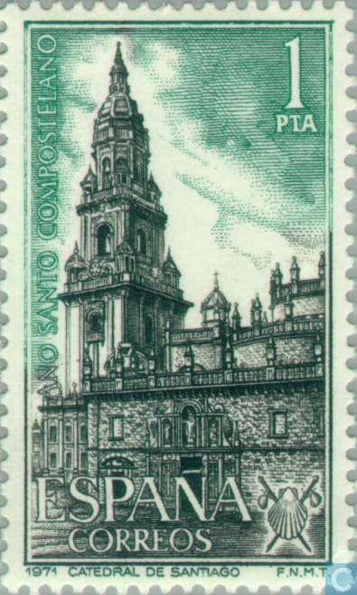 Catedral de Santiago deCompostela -1971