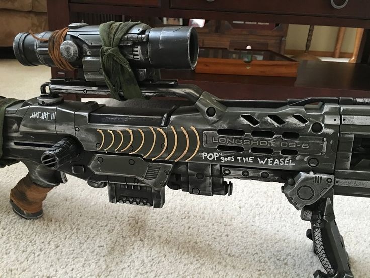 Post apocalyptic nerf sniper rifle by Fistgar