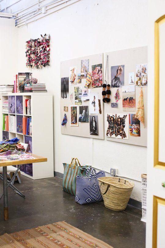 Kneeland Co. Textile Studio + Mercado — Creative Workspace Tour | Apartment Therapy