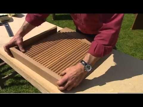Fabriquer un salon de jardin en bois, tutoriel bricolage - YouTube