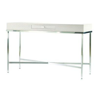 Allan Copley Designs Galleria Console Table Finish: White on Ash