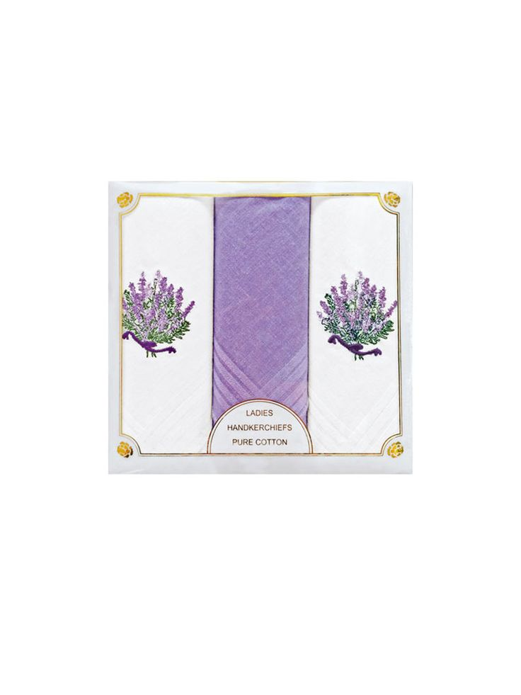 Taschentücher 'Ladies Handkerchiefs Lavender'