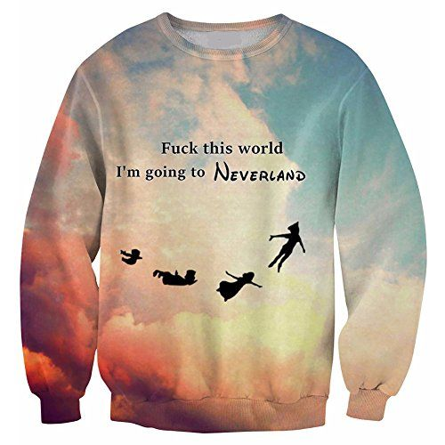 Sweaters 3D Fuck this world I'M GOING TO NEVERLAND Haraju... http://www.amazon.com/dp/B016QP6NAS/ref=cm_sw_r_pi_dp_es4hxb1CE4NXP