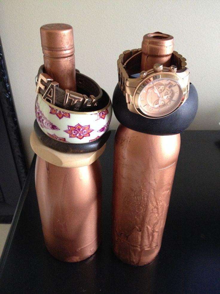 Oude wijnflessen hergebruiken!