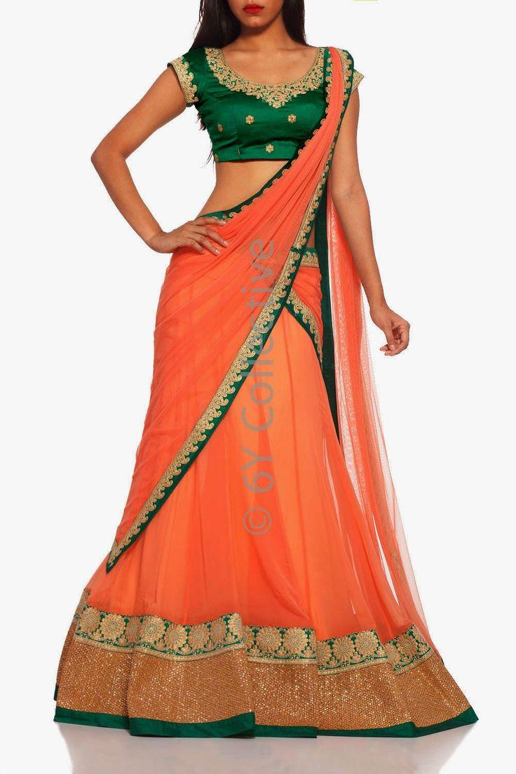 Fashion: Bridal Lehenga Choli Collection 2014 This Winter