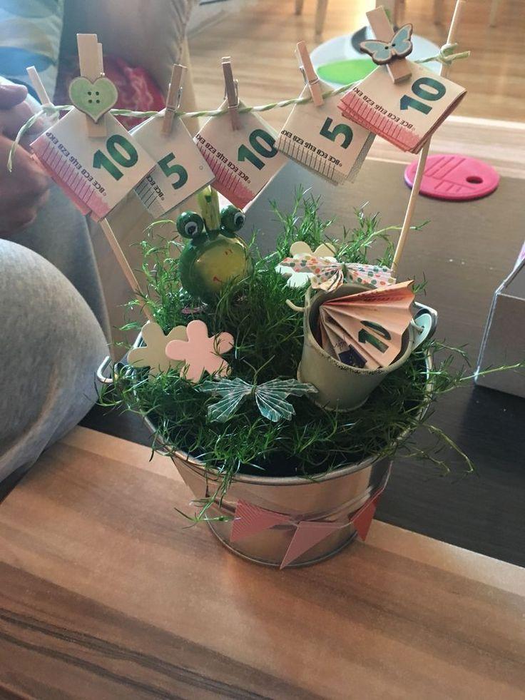 Für einen Geburtstag, eine Heirat oder eine Housewarming Party Geld schenken? H