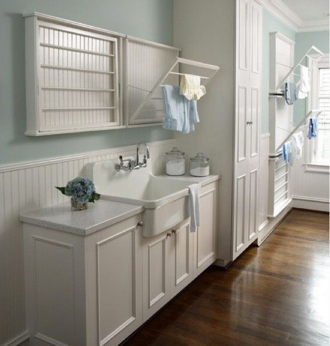 One Single Bowl Laundry Room Sink Has Defined The Style For High End Homes Rack For Clothesclothes Drying