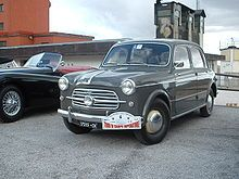 Fiat 1100 - a four door Fiat! Yes!