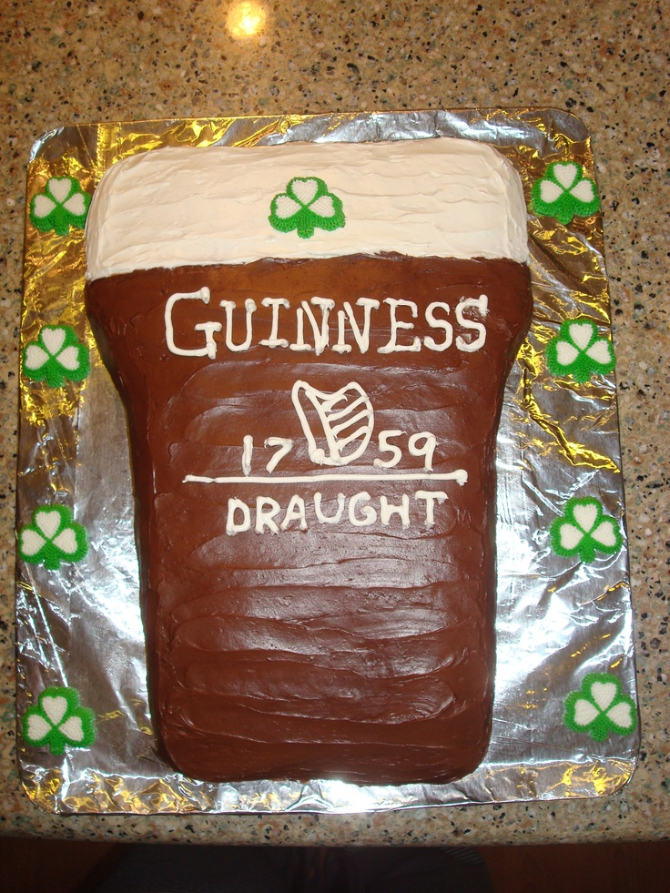Guinness Cake | My Cakes and Creations | Pinterest