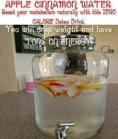 by Alexis – Mom2mycrazy2.com *** APPLE CINNAMON WATER *** Boost your metabolism naturally with this low calorie Detox Drink. Day Spa Apple Cinnamon Water has very few calories, less than 10 per serving. Put down the diet sodas and crystal light and try this out for a week. You will drop weight and have TONS …