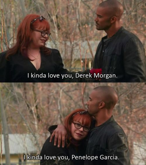 "SHEMAR MOORE with his ""Baby Girl"" Penelope Garcia, aka Kirsten Vangsness"