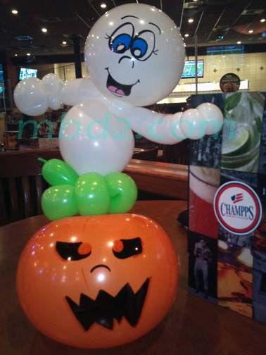 25 best ideas about halloween balloons on pinterest how for Balloon decoration for halloween