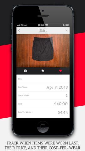 Outfit App! take pictures of everything in your closet and put together an outfit on your phone.