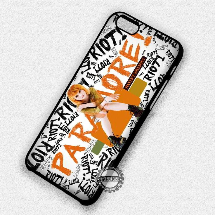 Hayley Riot Paramore - iPhone 7 6 Plus 5c 5s SE Cases & Covers