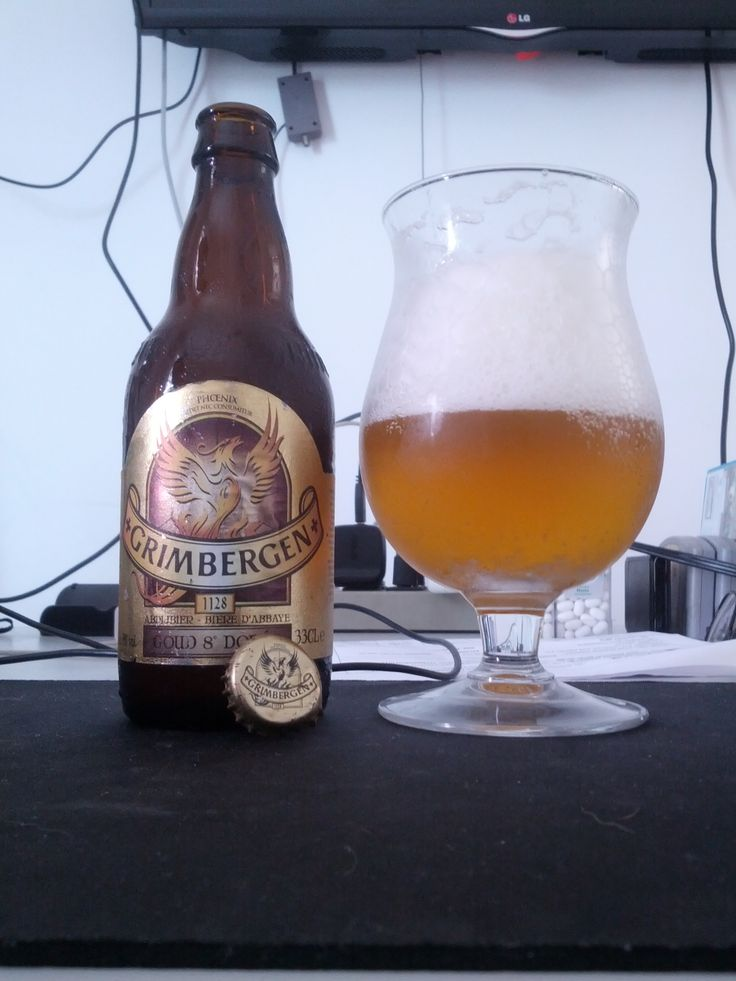 2013/12/08 - Grimbergen Goud (Dorée) 8° - Belgian Golden Strong Ale - 8% ABV
