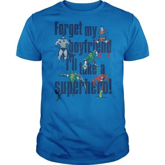 DC Forget My Boyfriend - #workout tee #tshirt headband. GET YOURS => https://www.sunfrog.com/Geek-Tech/DC-Forget-My-Boyfriend.html?68278
