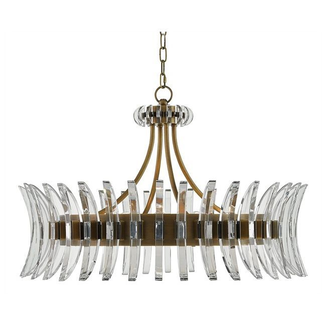 Coquette Chandelier By Currey And Company 9000 0014 Cc