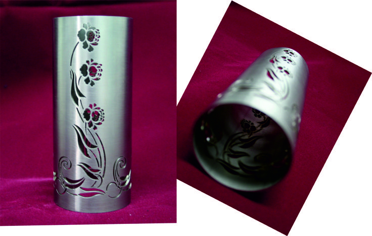 tube laser cutting - stainless steel