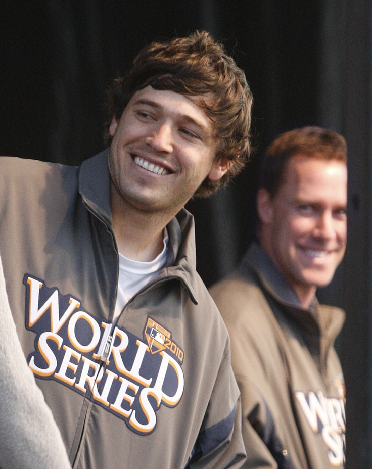 Ian Kinsler, David Murphy Man I hope they make it there a 3rd time. And win it. 3rd time is a charm!!!!!