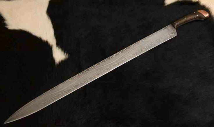 Viking single edge sword