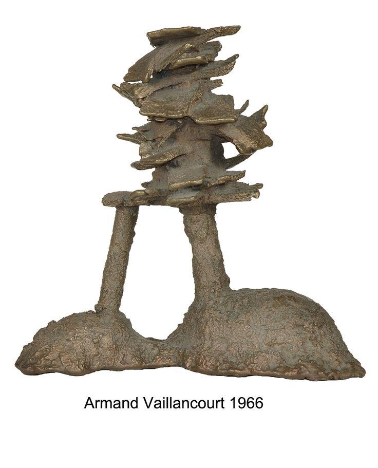 Bronze Armand Vaillancourt 1966.