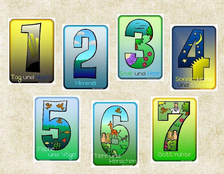 """Endlich Pause 2.0: Tafelkarten """"Schöpfung"""""""