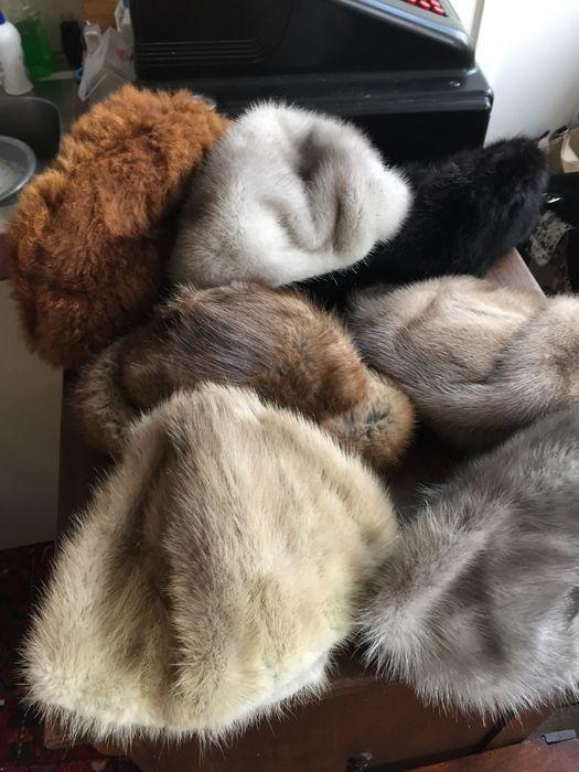 Online veilinghuis Catawiki: 7 verschillende bontmutsen