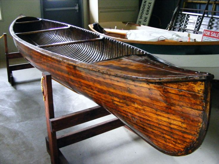 1929 Peterborough cedar strip canoe - we belong together. via antiqueboatamerica.com